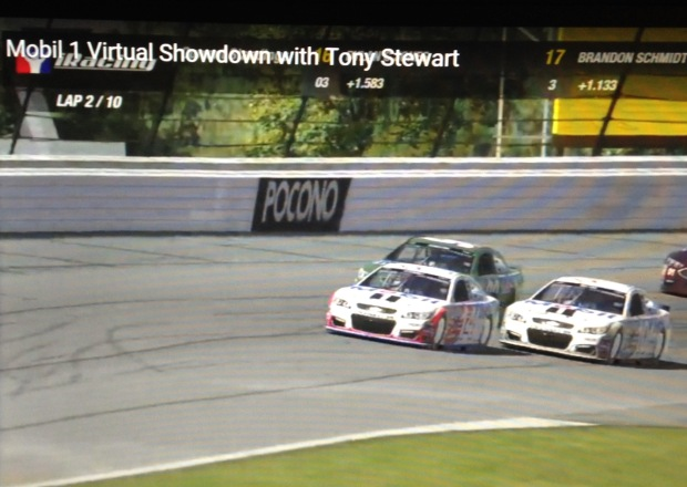 Mobil 1 Virtual Showdown with Tony Stewart